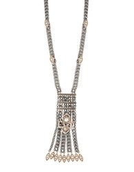 Jenny Packham Long Chain Pendant Mixed Metal