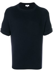 Ports 1961 Fully Fashioned Crew Neck Blue
