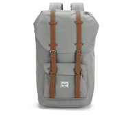 Herschel Supply Co. Little America Backpack Grey Tan Synthetic Leather