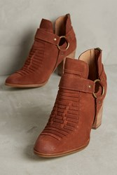 Anthropologie Seychelles Impossible Booties Honey