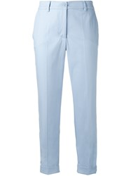 P.A.R.O.S.H. Tailored Trousers Blue