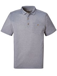 Craghoppers Men's Nosilife Gilles Short Sleeved Polo Olmeto Blue