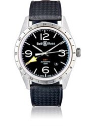Bell And Ross Br 123 Gmt 24H Watch Black