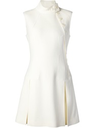 Creatures Of The Wind Sleeveless Button Dress White