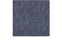 Fairfax Men's Reversible Silk Pocket Square Blue Grey