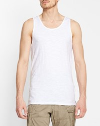 Minimum White Temple Tank Top