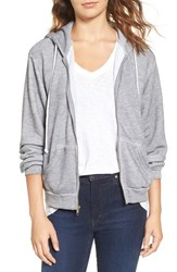 Wildfox Couture Women's Love Story Zip Front Hoodie
