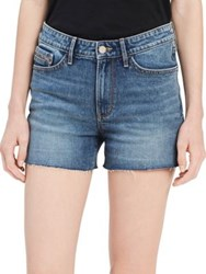 Calvin Klein Jeans Stretch Denim Shorts River Blue
