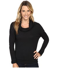 Carve Designs Cortez Cowl Neck Black Women's Clothing