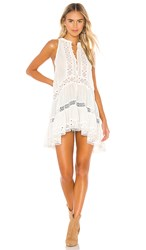 Free People Adelaide Tunic In White.