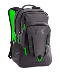 Under Armour Ua Storm Recruit Backpack Graphite Lime