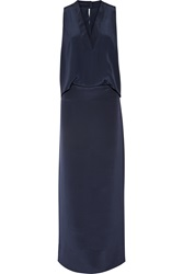 By Malene Birger Lawan Silk Crepe Gown
