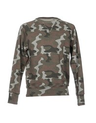 S.O.H.O New York Soho Sweatshirts Military Green