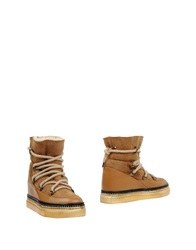 Guardiani Sport Ankle Boots Camel