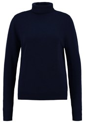 Earnest Sewn Jumper Navy Dark Blue
