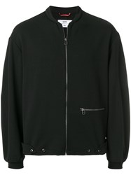 Oamc Loose Bomber Jacket Black