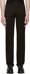 Versace Black Slim Trousers