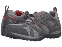 Columbia Grand Canyon Outdry Light Grey Poppy Red Women's Shoes Gray