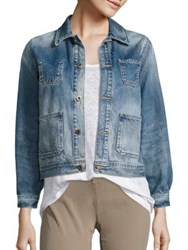 Ag Jeans Andy Denim Jacket 17 Years Stone Cliff