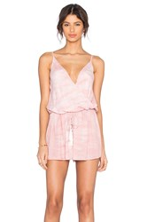 Young Fabulous And Broke Monet Romper Pink