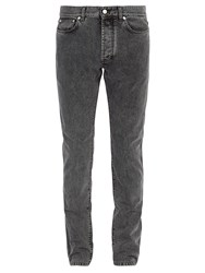 Givenchy Slim Fit Washed Jeans Grey