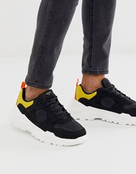 Creative Recreation Chunky Trainer In Multi Black