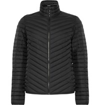 Kjus Blackcomb Water Repellent Quilted Shell Down Jacket Black