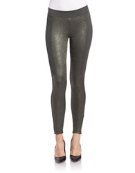Jessica Simpson Stretch Ponte Leggings Gothic Olive