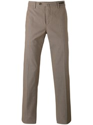 Pt01 Tailored Trousers Brown