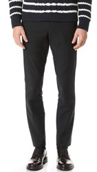 Club Monaco Modern Dress Trousers Black