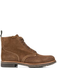 Polo Ralph Lauren Textured Lace Up Boots 60