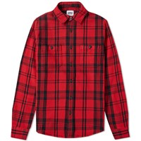Edwin Labour Shirt Red
