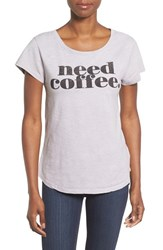 Signorelli Women's 'Love The Wine You're With' Short Sleeve Tee Silver