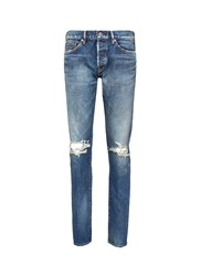 Simon Miller 'Cambria' Ripped Jeans Blue