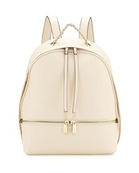 Kc Jagger Kramer Leather Backpack Bone Ivory