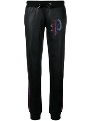 Philipp Plein P Embellished Track Pants Black
