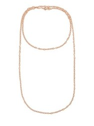 Laundry By Shelli Segal Cell Chain Necklace Rose Gold