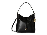 Lauren Ralph Lauren Crawley Hobo Black Black Hobo Handbags