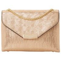 Dune Eddison Envelope Clutch Bag Rose Gold