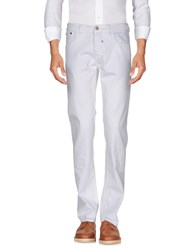 Ermanno Scervino Street Casual Pants White