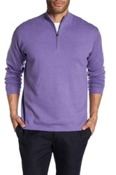 Peter Millar Salisbury 1 4 Length Zip Pullover Purple