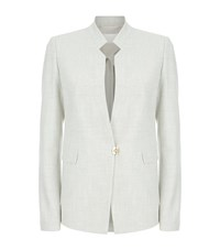 Hugo Boss Clasp Front Blazer Female Light Grey