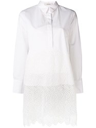 Dorothee Schumacher Purity Long Cut Blouse White