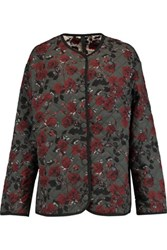 Mother Of Pearl Cryus Printed Quilted Sateen Coat Multi