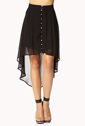Forever 21 Party Perfect Button Skirt