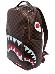 Sprayground Shark In Paris Faux Leather Backpack Multicolor