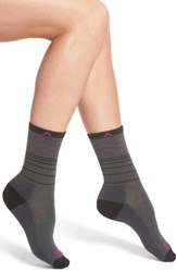 Wigwam Women's Rip Rap Pro Crew Socks Charcoal