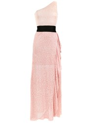 Cecilia Prado Agna Knit Long Dress Pink
