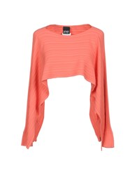 Paola Frani Pf Capes And Ponchos Salmon Pink