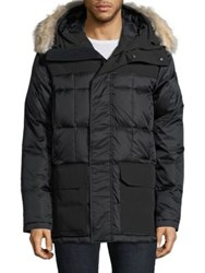 Canada Goose Callaghan Quilted Parka Graphite Black